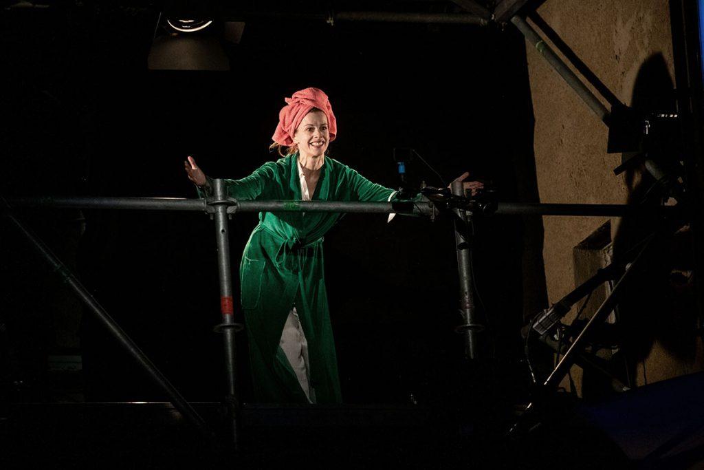 """02.09.2020 Weimar: """"Endlose Aussicht"""" von Theresia Walser mit Judith Rosmair im Rahmen des Kunstfest Weimar. Foto: Thomas Müller"""