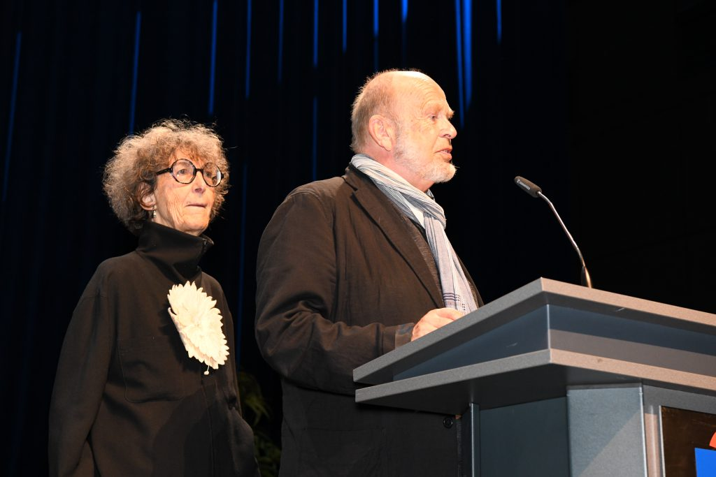 Birgit und Joachim Landgraf 211011 Inthega Theatermarkt