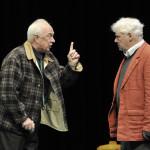 """""""Halpern & Johnson"""" mit Klaus Mikoleit als Joseph Halpern und Friedhelm Ptok als Dennis Johnson (© Oliver Fantitsch)"""