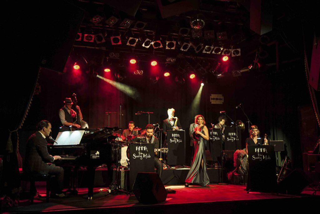 Anna+Swing Klub-Anna Schaefer+Band©Kerstin Schomburg