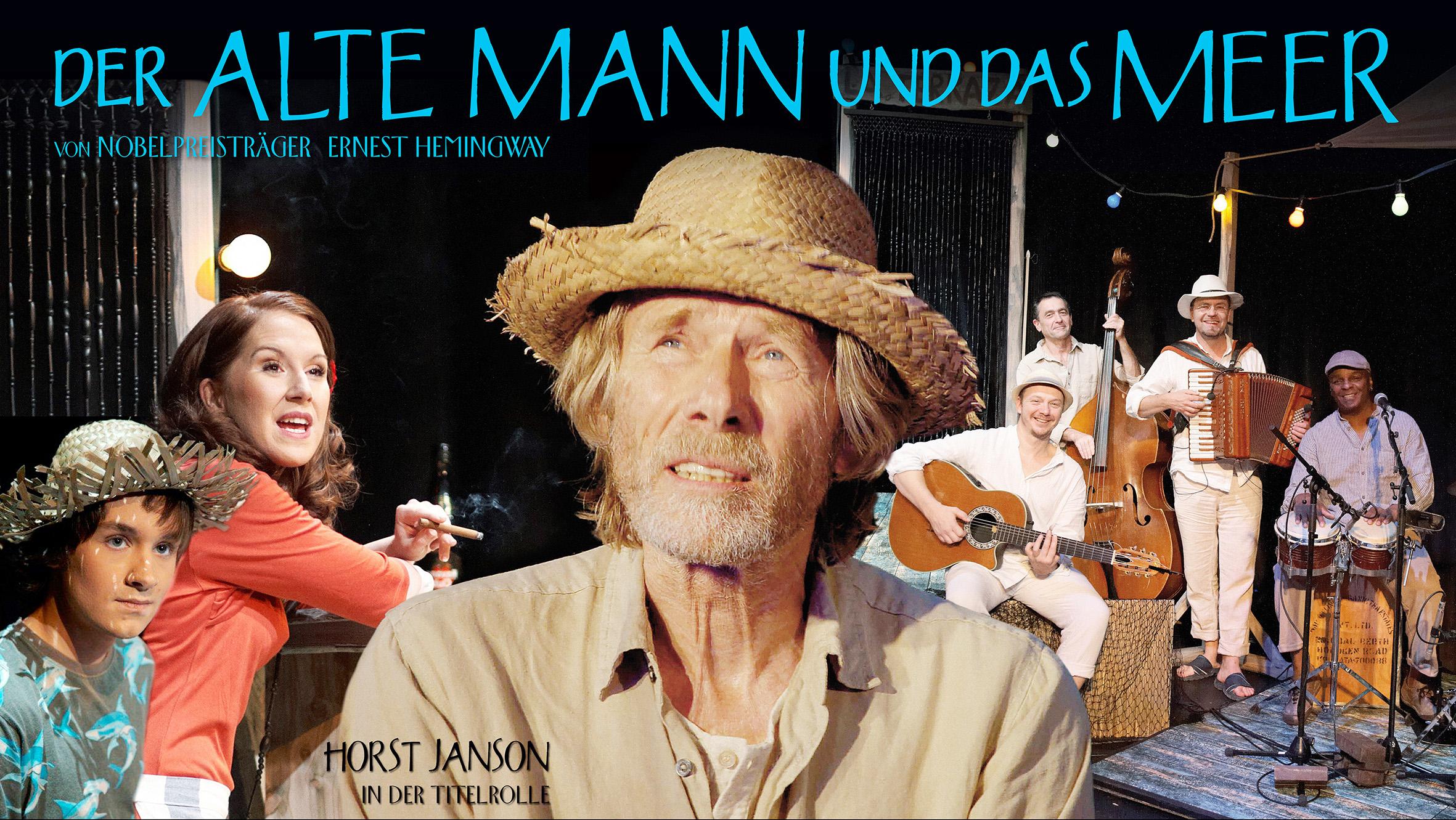 """""""Der alte Mann und das Meer"""" mit Horst Janson"""
