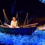 """""""Der alte Mann und das Meer"""" - Szenenfoto mit Horst Janson (Foto: Die TONabnehmer)"""