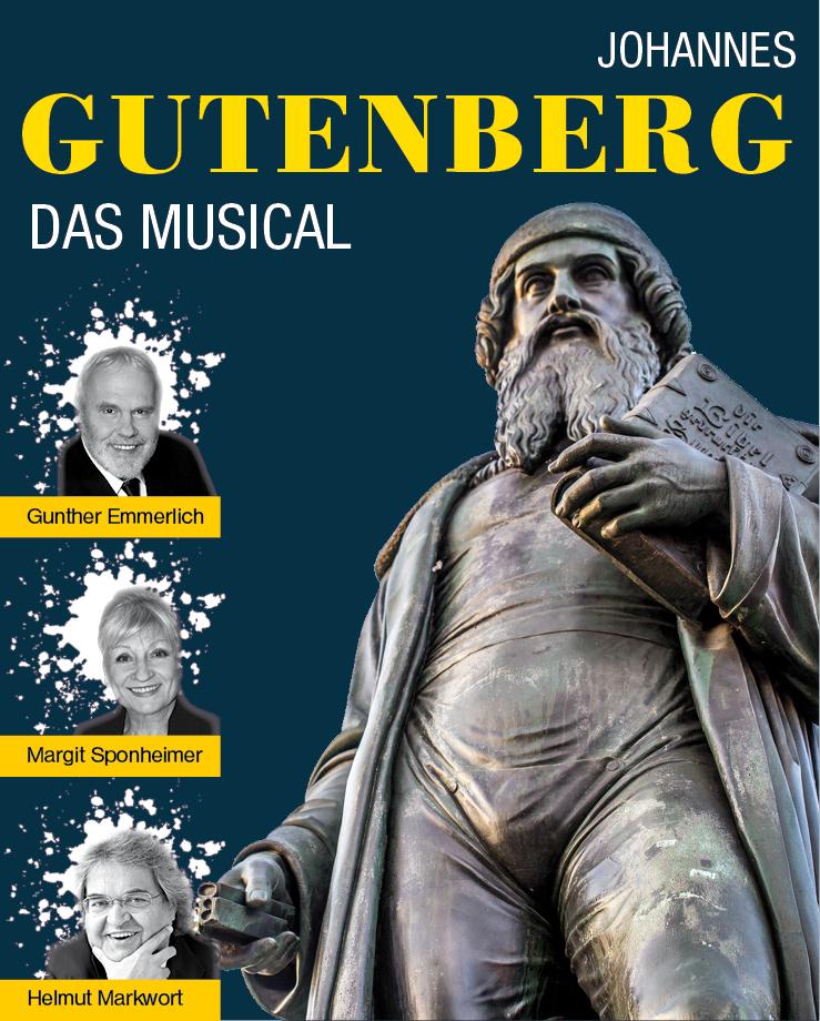 Johannes Gutenberg © Konzertdirektion Landgraf