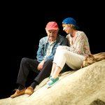 """""""Heisenberg"""", Ernst Deutsch Theater, Regie: Gerd Heinz mit Charles Brauer Anna Stieblich © Christian Enger"""