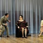 Ich bin wie ihr ich liebe Äpfel_Reinhild Solf, Ole Eisfeld, Doris Kunstmann, Saskia Valencia © Oliver Fantitsch