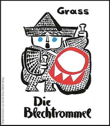 Originalillustration von Günter Grass Copyright Steidl Verlag