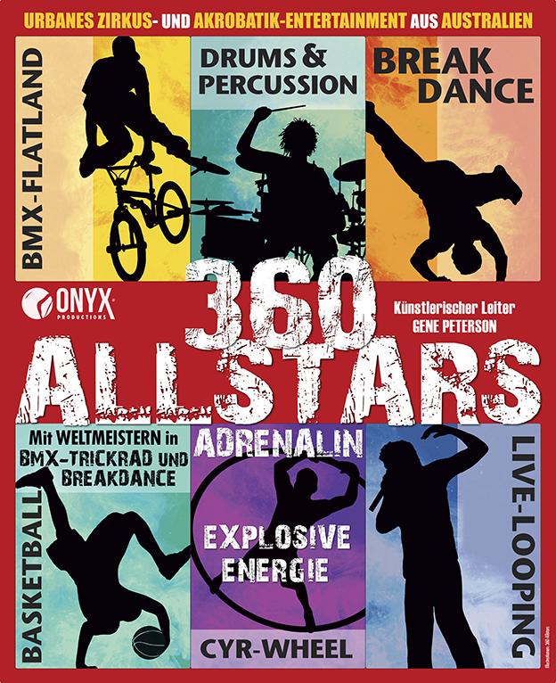 "Plakat ""360 Allstars"" 2015"