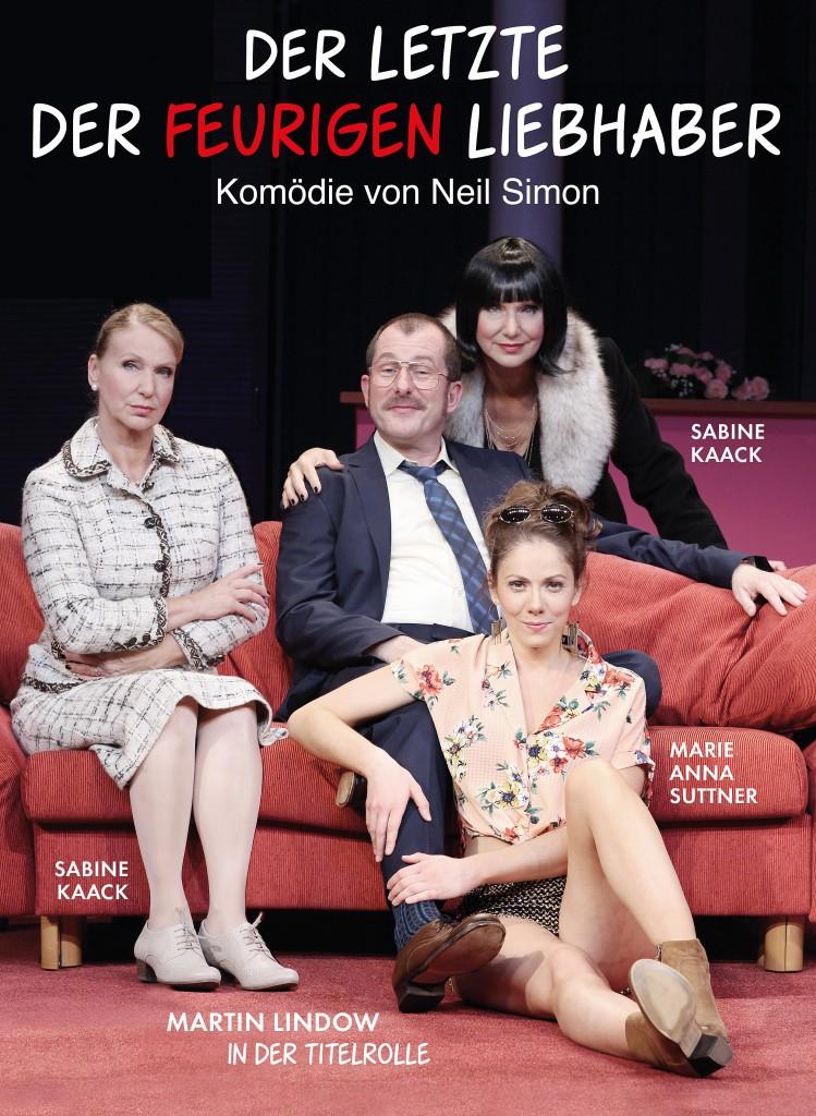 """Plakat """"Der letzte der feurigen Liebhaber"""" 2015"""