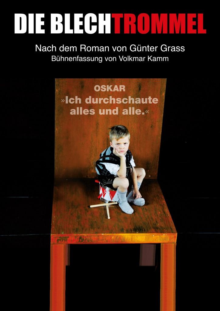 """Plakat """"Die Blechtrommel"""" 2015"""