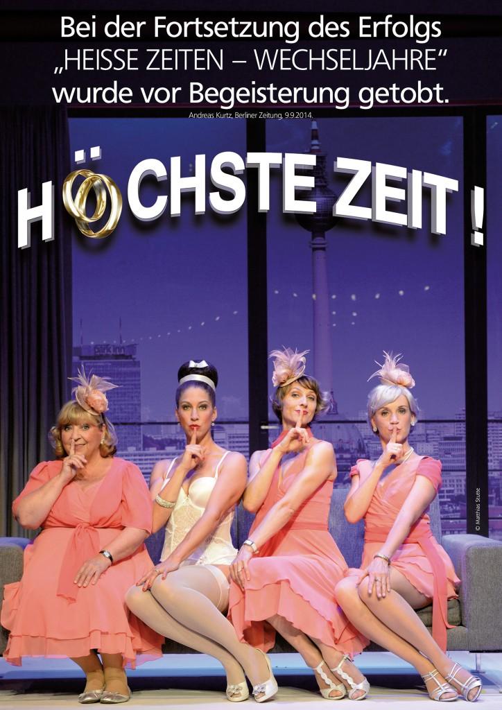 """Plakat """"Höchste Zeit"""" 2015"""