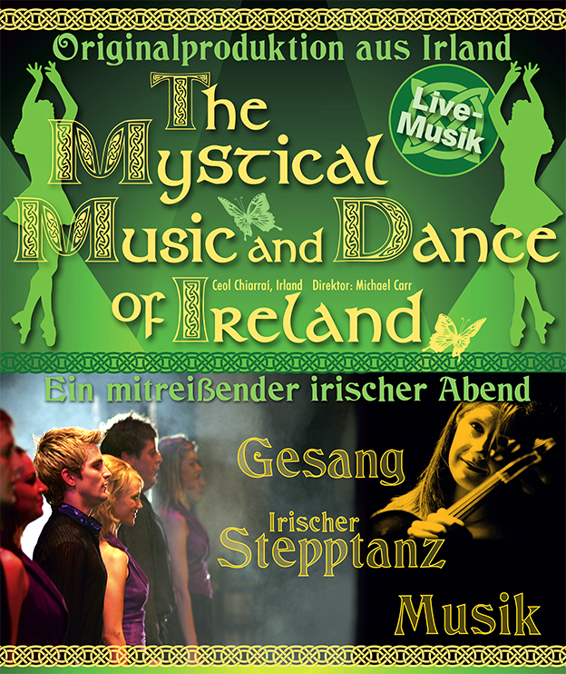 "Plakat ""Mystical Music and Dance"" 2016"