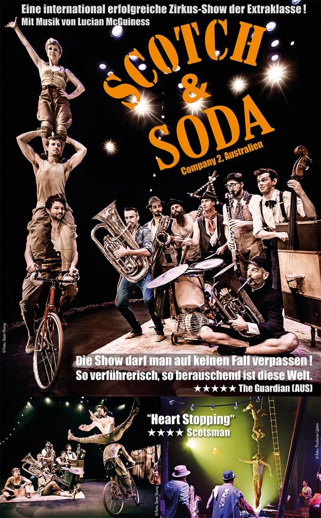Plakat Scotch and Soda 2016