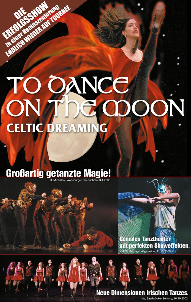 """Plakat """"To Dance on the moon"""" 2016"""