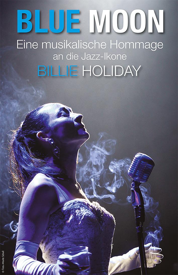 Plakat Blue Moon