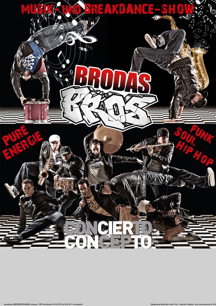 Plakat Brodas Bros 2016