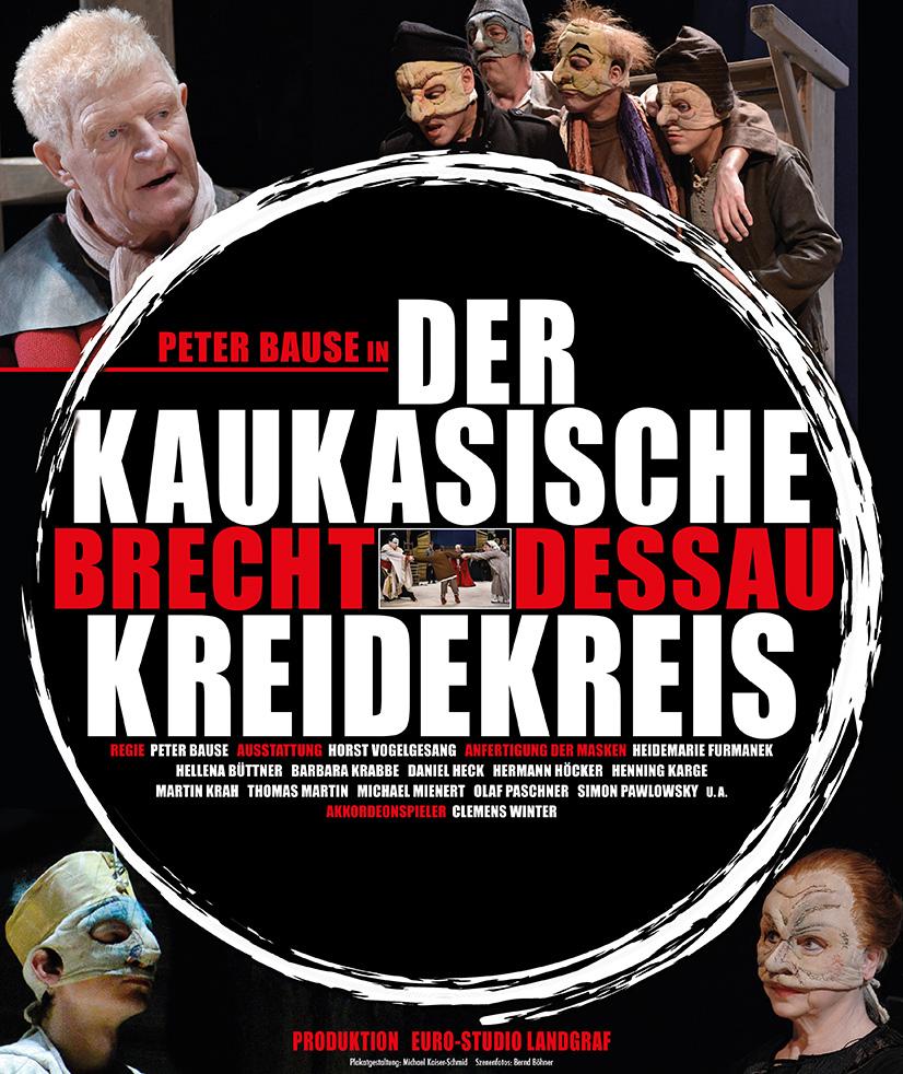 Plakat Der kaukasische Kreidekreis