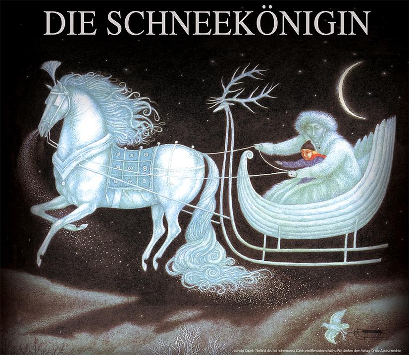 Plakat Die Schneekönigin