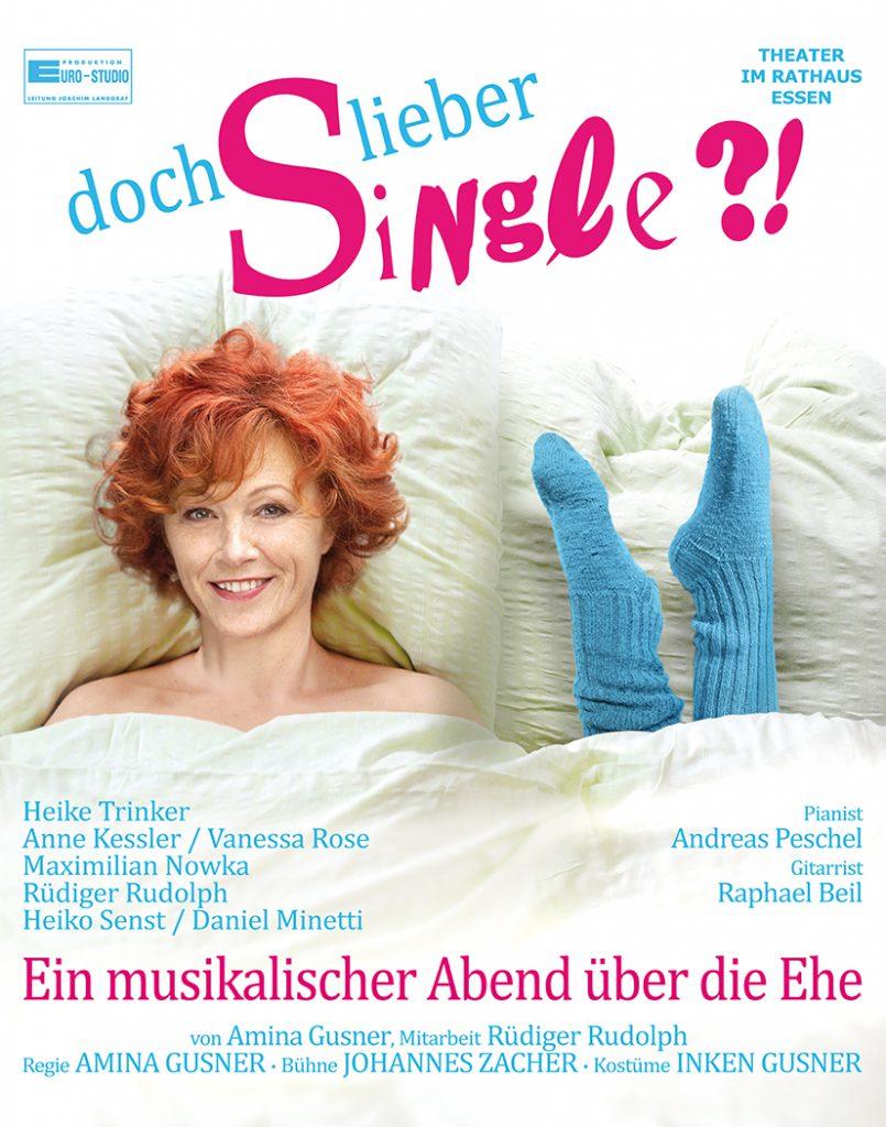 Plakat Doch lieber Single 2016