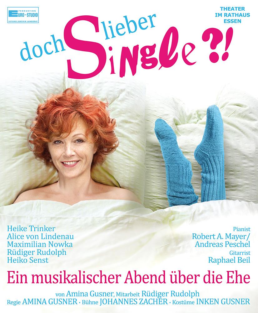 Plakat Doch lieber Single