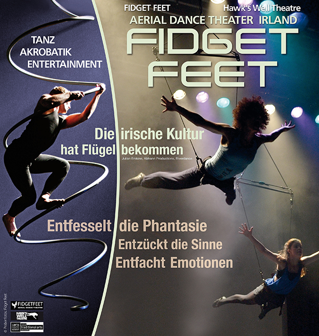 "Plakat ""Fidget Feet"" (2014)"