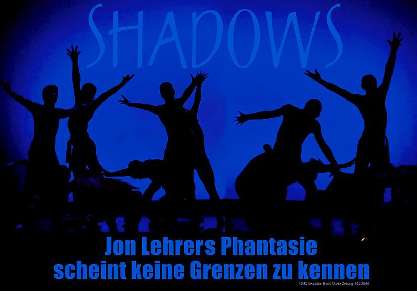 Plakat Jon Lehrer Shadows 2016