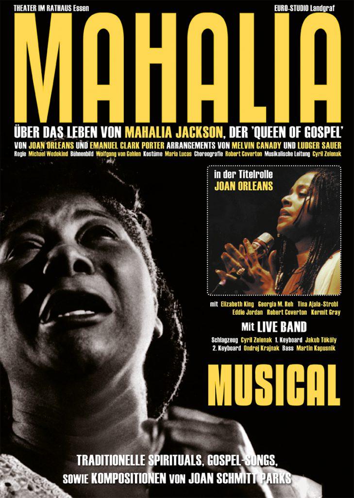 Plakat Mahalia 2016