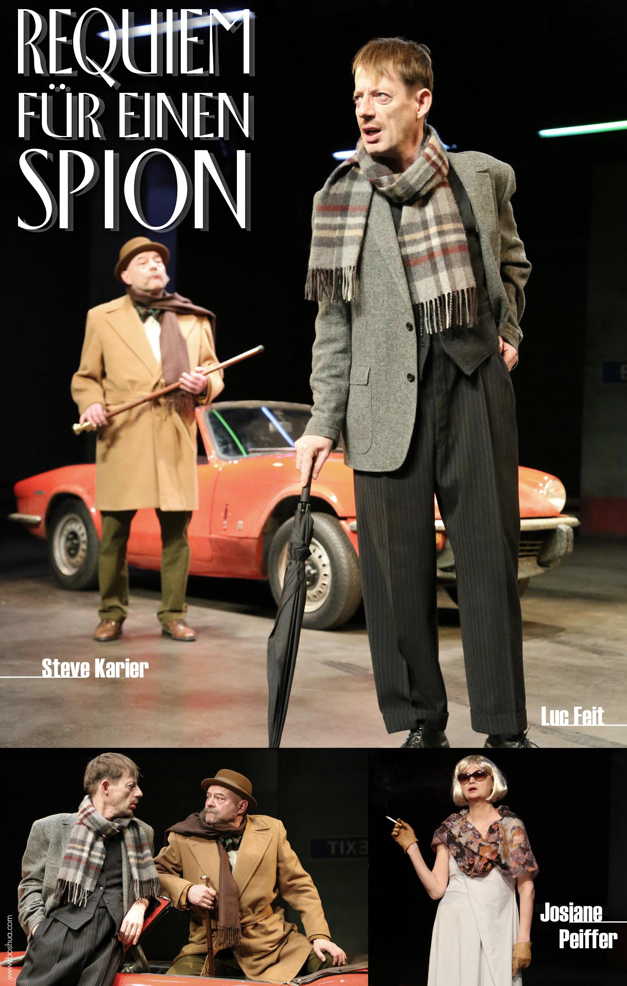Plakat Requiem für einen Spion