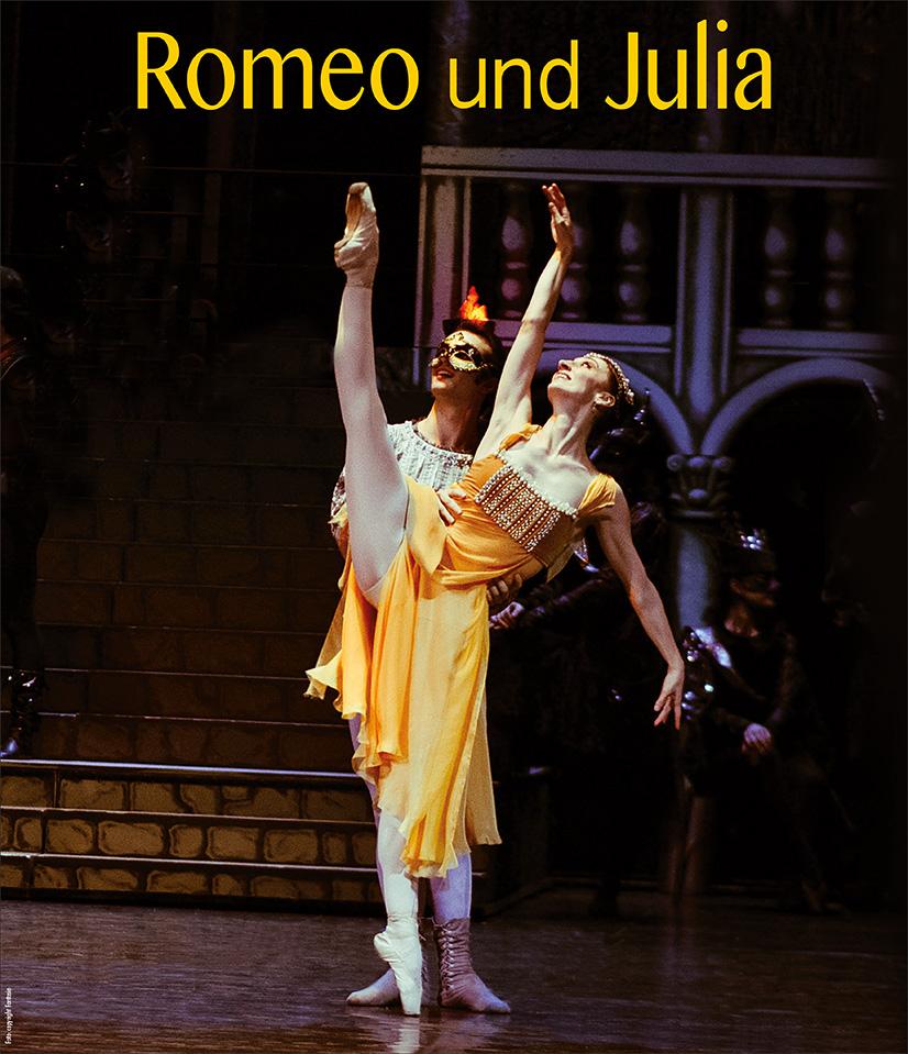 Plakat Romeo und Julia
