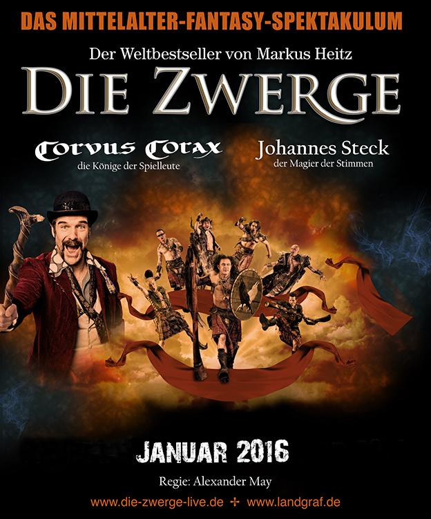 """Plakat """"Die Zwerge"""" (2016)"""