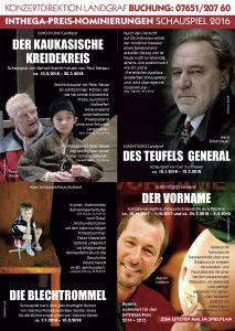 INTHEGA Schauspiel-Nominierungen Landgraf