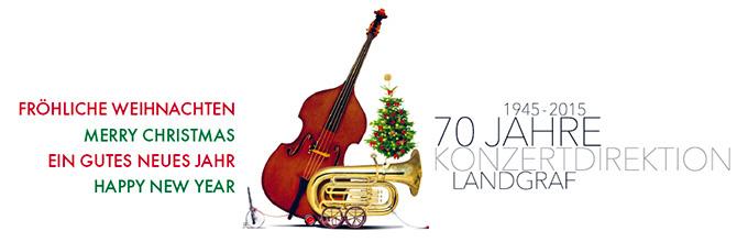 Wir wünschen eine fröhliche Weihnachtszeit und ein gutes neues Jahr!