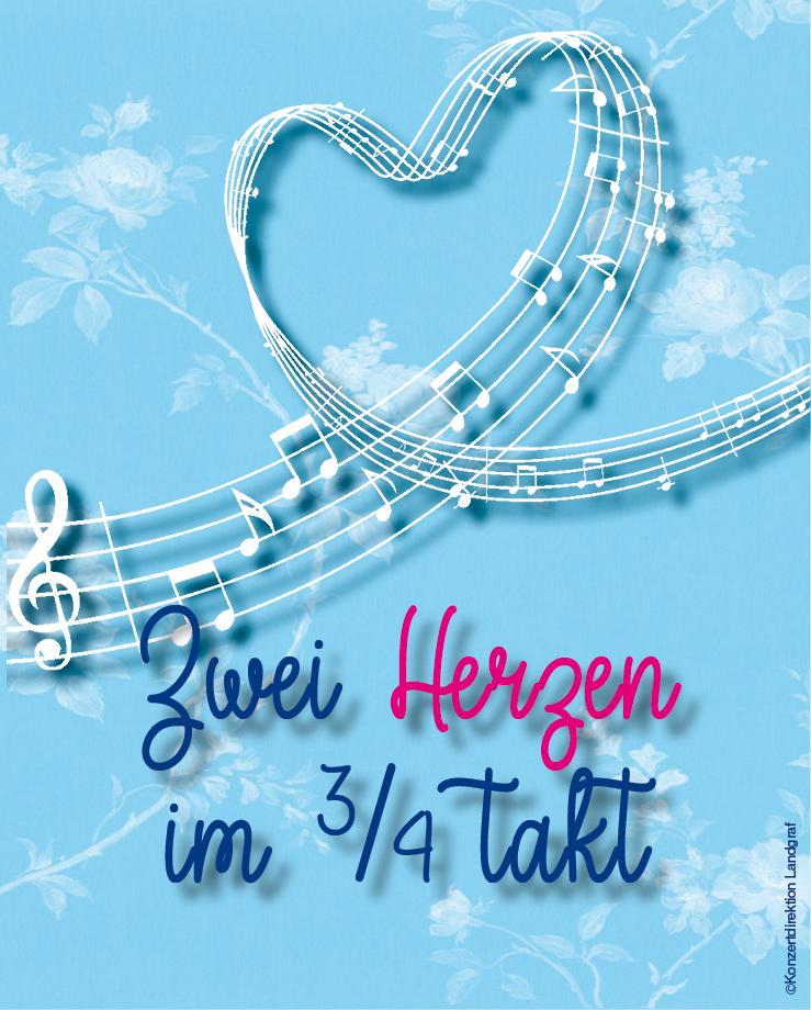 Zwei Herzen im Dreivierteltakt © Konzertdirektion Landgraf